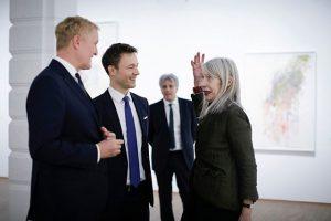 """#Ausstellungseröffnung von #MarthaJungwirth @albertinamuseum. Und auch herzliche #Gratulation zum österreichischen """"Oskar"""" - dem #OskarKokoschka #Preis #2018. Eine..."""