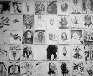 Schiele blocks #wien #leopoldmuseum #sundaymood #kunst #blackandwhite #austria #picoftheday #instagood #schiele #thomaspalme #sketch