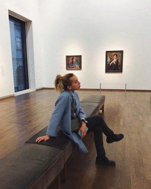 reading Kokoschka's biography and thinking about application to Universität für angewandte Kunst Wien 🌏🎨 Leopold Museum