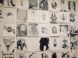 #sketches #wien #wean #thomaspalme #egonschiele #leopoldmuseum #nakedcameo #releaseparty #ontour #luddite #🌴 Vienna, Austria