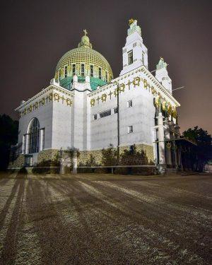 Dieses Bild von der Otto Wagner Kirche ist mein persönliches Highlight meiner Otto Wagner Serie ☺️ Bin...
