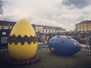 Wiener Osternmarkt 😍#wien Schloß Schönbrunn
