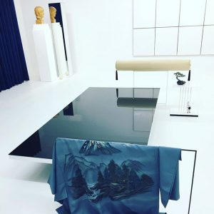 #harisepaminonda #enigmatic #volxxiii #metaphysical #viennasecession #bustofapollo #whitespace #mirrorsandreflections #japanese #roman #blueandwhite #modernart #experimentalart #symbols #fragments #nature Vienna...