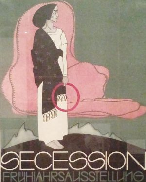 Great Posterlove. This one was made for the Spring Exhibition 1913 @viennasecession Seen at Literaturmuseum @nationalbibliothek Thank...