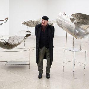 """Rudolf Polanszky: """"Materialien sind mir eigentlich völlig egal"""" Interview und Foto von Amar Priganica. @viennasecession @amarpriganica #rudolfpolanszky..."""