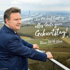 Unser Vorsitzender #MichaelLudwig feiert heute Geburtstag! Wir wünschen alles Gute ☺🍀🎂🍾🐞 Vienna