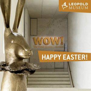 ♥️🐰 Happy Easter 🐰♥️ #LeopoldMuseum #LoveLeopold Leopold Museum