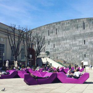 Finally #springtime MQ – MuseumsQuartier Wien
