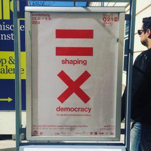 Shaping Democracy - Ausstellung im MQ #gratisabernichtumsonst #wienliebe #demokratieundso MQ – MuseumsQuartier Wien