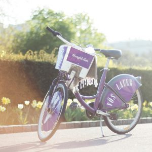 Überrasch Dich selbst und nimm heute mal das Fahrrad statt der U-Bahn. #Fahrradtag #Citybike #vöslauer #jungbleiben #vienna...