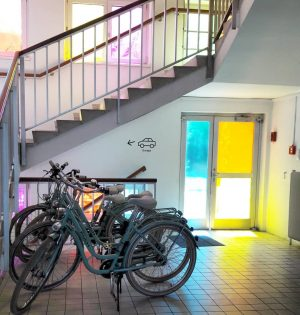 Colour up your life! #magdashotel #socialbusiness #wien #vienna #bike #bikelovers Magdas HOTEL