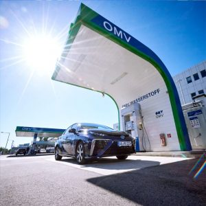 This high-tech facility is a hydrogen filling station. The first ones in Austria were built by OMV...