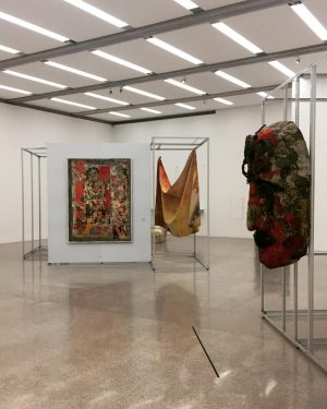 A bit of Nikki de Saint Phalle, Raymond Hains and Sam Gilliam in 'Art into Life!' @mumok_vienna...