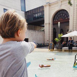 Bootsrennen im MQ! Unser Highlight heute in Wien! Eine sensationelle Idee so großartig und liebevoll umgesetzt! #mqsommer...