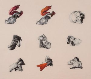"Have you already seen Elaine Reicheks exhibition? Elaine Reichek, ""Toutes les Filles"", detail, ..."