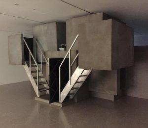 Amos' World . . . #art #sculpture #installation by #cécilebevans #mumok #museum #wien #vienna #modernart #amosworld #brutalist...