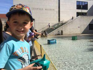 #summer at #city #vienna #museumsquartier #rentaboat #sunday #afternoon #tischershappylife
