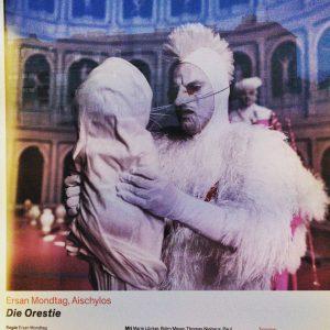 Die Orestie. #antikestheater #festwochen #theateranderwien Theater an der Wien - Das neue Opernhaus