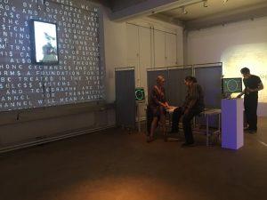 #künstlerhaus Wien#installation by Jahrmann &Glasauer - Flow Meditation trace - at the Enttopy Show - Open now!!!