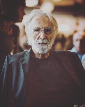 Two legends in one spot. Yesterday I had the opportunity two shoot portraits of filmmaker 1: #michaelhaneke...