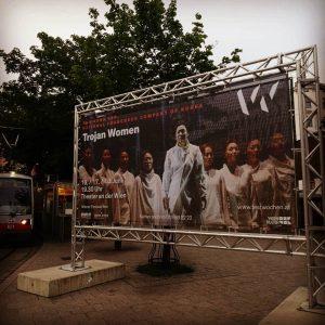 Trojan Women spielt am 16. / 17. / 18. Juni im Theater an der Wien. #kpop #pansori...