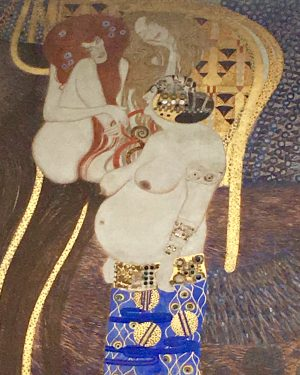 Hell & Heaven by #GustavKlimt #art #viennasecession #Europe #Gold