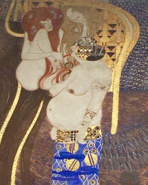 Hell & Heaven by #GustavKlimt #art #viennasecession #Europe #Gold