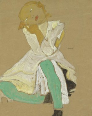 Egon Schiele was #bornonthisday back in 1890. 🎉 Some of you might already have seen this artwork...