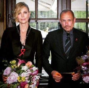 today Charlize Theron received the Cristal of Hope for her outstanding contribution to her home country #southafrica...