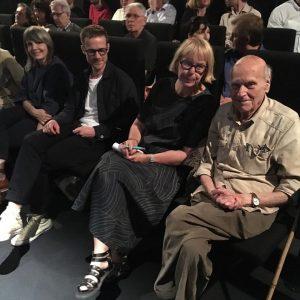 great filmpremier in the #mumokvienna with #yonafriedman #mariannepolonszky filmmakers #sashapirker & #michaelklein #kieslerprize #kieslerfoundation
