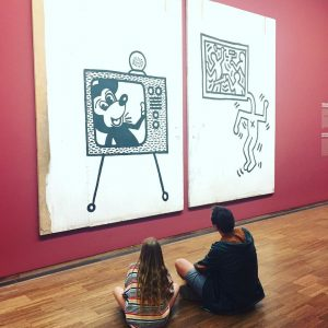 Artwatching.... #keithharing #albertina