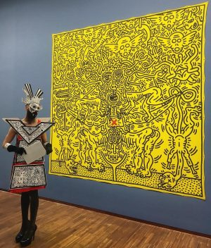 #keithharing #exhibition #drag 🐝