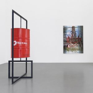"""The Simple Life"" exhibition with artist Lucie Stahl at Galerie Meyer Kainer explores consumerism, consumer culture and..."