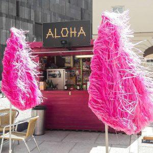 Aloha 🌊🌊🌊 #MQ #pink #igersvienna #summer #aloha #itssofluffy