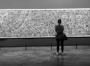 Die Matrix, 1983 - Keith Haring .