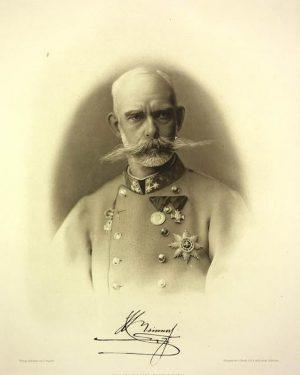 Erzherzog Rainer hatte nicht nur einen irre schicken Bart, sondern auch einen hervorragenden Riecher für gute Gelegenheiten....