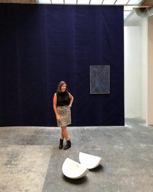the one and only Francesca Gavin 💥 @roughversion @_ruyter #alessandrocicoria #francescagavin #contemporary #contemporaryart #art #artist #artwork #painting...