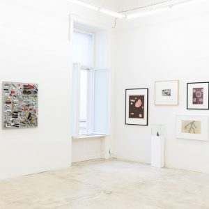 ---Current exhibition---Meret Oppenheim & Daniel Spoerri @galeriekrinzinger Showroom until August 3,2018 #meretoppenheim #danielspoerri #drawing #sculpture #object #contemporaryart...