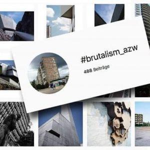 """Morgen 19:00 Ausstellungseröffnung Az W Insta-Photo Award: #brutalism_azw Der Az W Insta-Photo Award anlässlich der Ausstellung """"SOS..."""