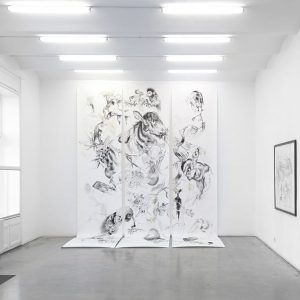 Exhibition of Per Dybvig's works at @christinekoeniggalerie is open until 28. July. Dybvig ...