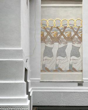 Koloman Moser: Reigen der Kranzträgerinnen (1898) #sexy #vienna #secession