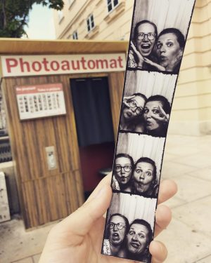 F.U.N. with a Photobox 🤩 #photoautomat #fun #museumsquartier #wien #vienna #photo #friends #austria