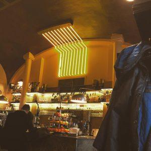 Bin kurz beim DM Café Daniel Moser