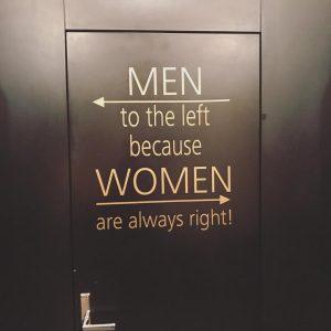 #truethat #womenarealwaysright #girlpower #vienna #toilettewisdom #coffeehouse #viennesecoffee #viennesecoffeehouse #coffeeculture #coffeelover #coffee #cafedanielmoser #loveit ...