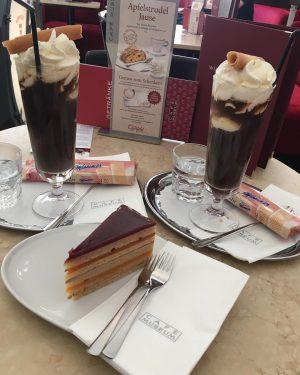 #landtmannfeinetorte #cafemuseum #vienna #icecoffee #summer #travel #wien Café Museum
