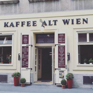 Wien mit seinen alten schönen Seiten #vienna #kaffee #ontour #meeting #city Kaffee Alt Wien