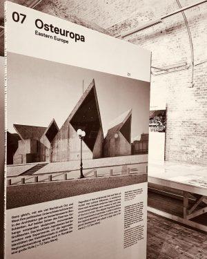 #brutalistarchitecture #osteuropa #grid #graphicdesign #architecture #vienna #markomušič @architekturzentrum_wien