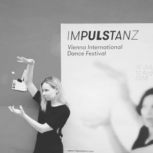 Auf wiedersehen and thanks to #impulstanz for the lovely week with Benoît Lachambre and Michal Sayfan 😙...