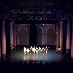 Time to applaud another good one! . . #impulstanz #impulstanzfestival2018 #megstuart #damagedgoods #dancefestival #applause #moderndance #contemporarydance #stagetime...