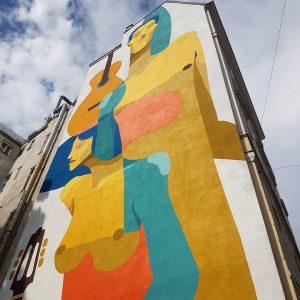 #wien #vienna #graffiti #graff #streetart #mural #painting #wall #weekend #sky #clouds #weekend